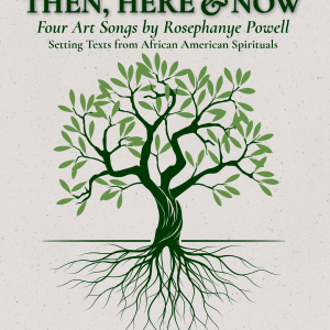 Then Here and Now Cover of tree growing roots showing under the ground
